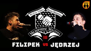 FILIPEK vs JĘDRZEJ @ Microphone Masters 10 @ freestyle battle