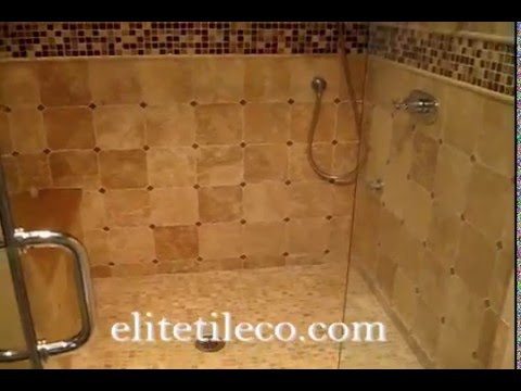 masters tiles bathroom limestone travertine tile master bathroom and showerstall 13607