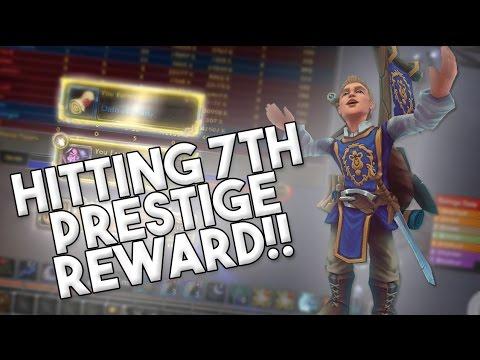 I HIT 7TH PRESTIGE! WHAT DID I GET?! (World of Warcraft Legion PvP)