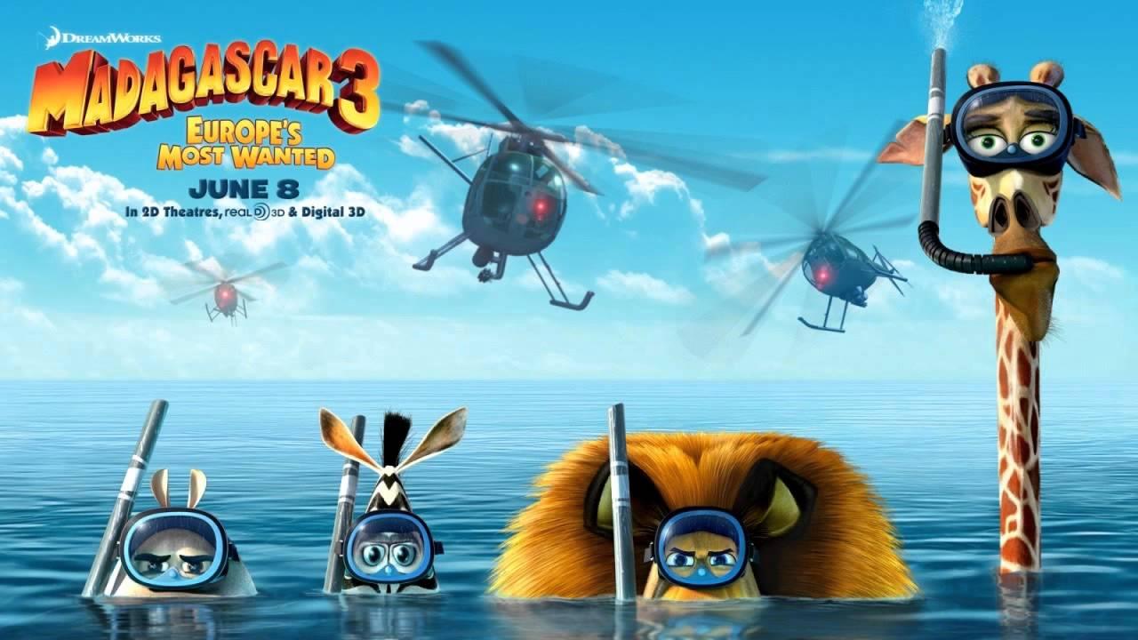 Madagascar 3 Soundtrack 12  Firework *HQ*
