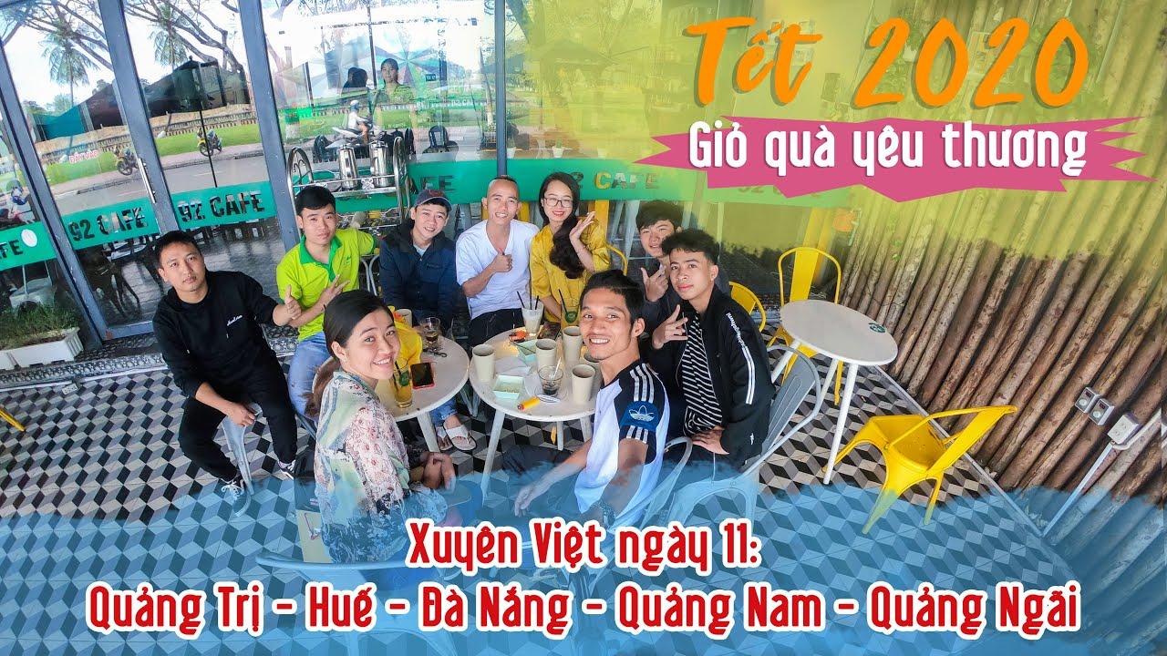 Hành trình xuyên Việt xin Đặc Sản làm từ thiện - Giỏ quà yêu thương - Ngày 11