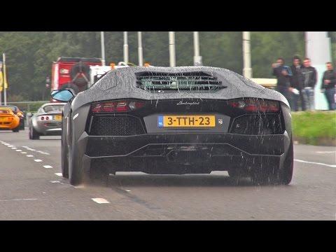 Lamborghini Aventador LP700-4 w/ Akrapovic Exhaust!