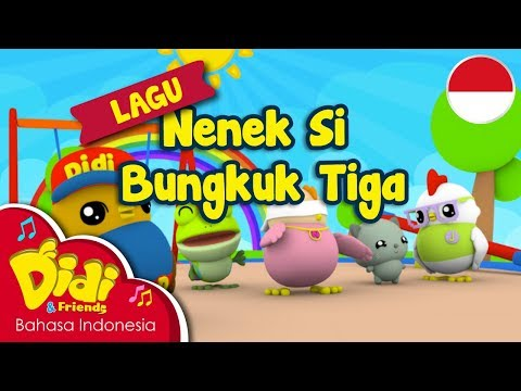 Lagu Anak-Anak Indonesia | Didi & Friends | Nenek Si Bungkuk Tiga