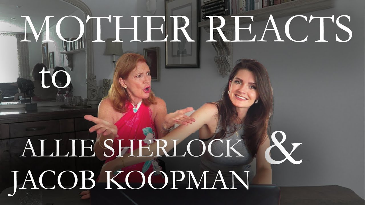 MOTHER REACTS to WICKED GAMES by Allie Sherlock & Jacob Koopman  |  Reaction Video