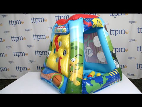 Mickey Mouse Clubhouse Ball Pit from Moose Mountain & Mickey Mouse Clubhouse Ball Pit from Moose Mountain - YouTube