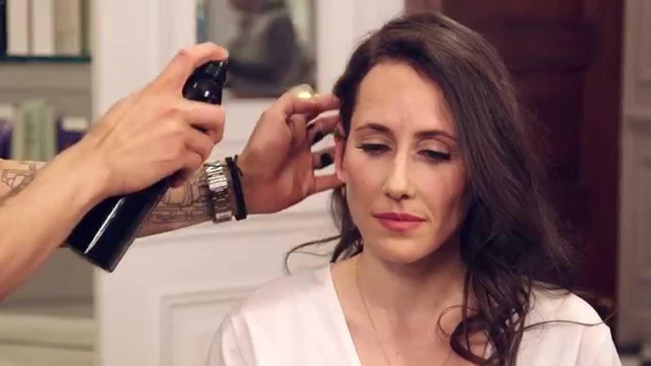 Emily Ratajkowski\'s Side Part Hair Tutorial   Get That Look ...