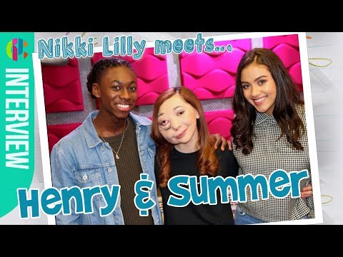 Nikki Lilly meets... Summer & Henry from The Next Step