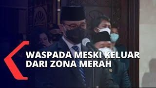 DKI Jakarta Lepas Zona Merah Covid-19, Penanganan Tak Akan Kendor