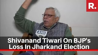 RJD Leader Shivanand Tiwari Reacts To BJP's Loss In Jharkand Assembly Election