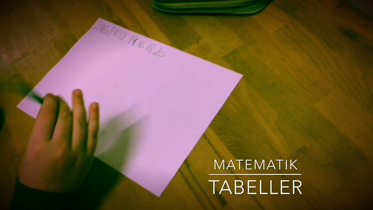 Tabeller (2-tabellen)
