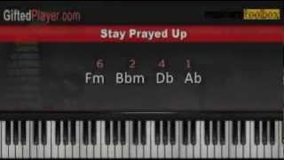 Stay Prayed Up by Kandi & Marvin Sapp - Piano Lesson Tutorial