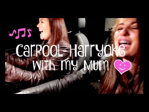 HARRY STYLES CARPOOL KARAOKE WITH MY MUM