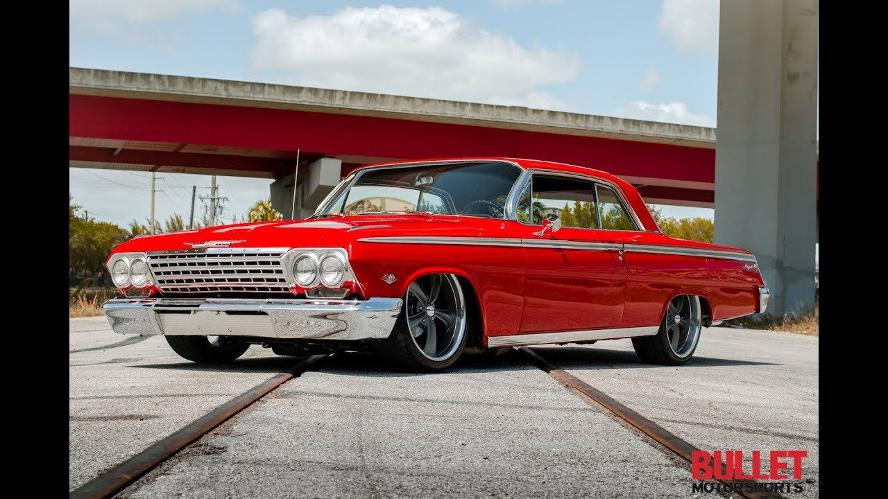 1962 Chevrolet Impala SS On Air Ride Suspension [HD]