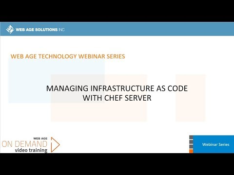 Managing Infrastructure as Code with Chef Server