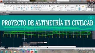 Triangulación, curvas de nivel, secciones y perfil en CivilCad. U3 Altimetria