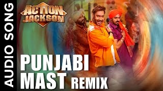 Punjabi Mast (Official Audio Remix) | Action Jackson | Ajay Devgn & Sonaksh …