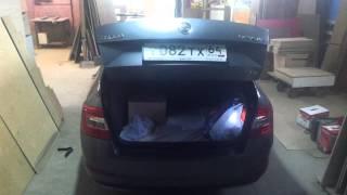 Автоматическое открытие крышки багажника Skoda Octavia A7