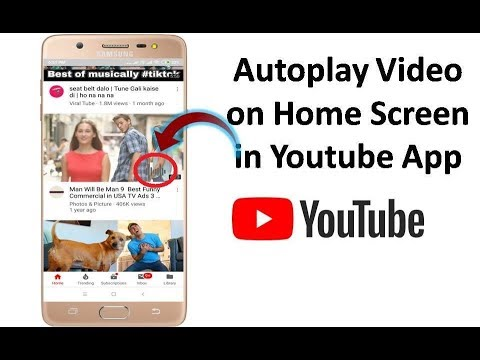 How To Enable Autoplay Video On Home Screen In Youtube App On Android Youtube