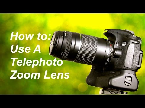 How to Use a Telephoto Zoom Lens