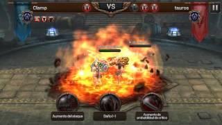 Evilbane rise of ravens en Español Batalla de Gremio Clamp vs ? (Guild vs Guild)