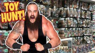 🚨 TOY HUNT!!! 🚨 Elite 58 Fun with BRAUN STROWMAN!!! - WWE Mattel Wrestling Action Figure #92