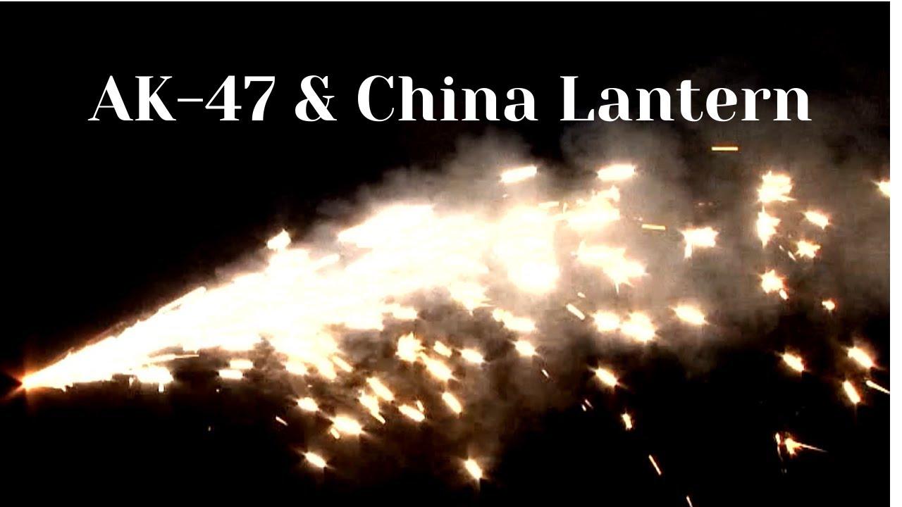 BW1421 & BW1422 China Lantern & AK-47 Fountain for child BOOMWOW fireworks