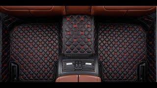 Кожаные 3D Коврики для всех Марок Автомобилей. В Авто с Алиэкспресс. Коврики Автомобильные