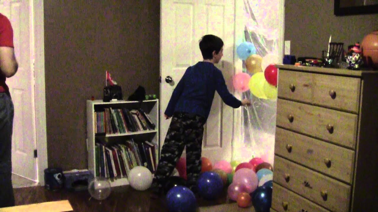 Birthday Balloon Door YouTube