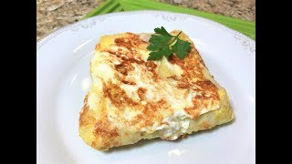 3 минуты и Супер-Завтрак готов!  БЫСТРО, ДЁШЕВО И СЕРДИТО! Tasty breakfast