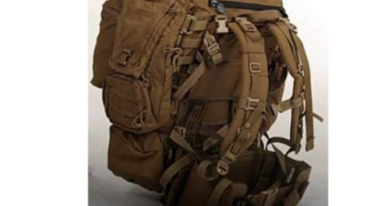 Coyote Usmc Marine Filbe Rucksack Complete Pack System