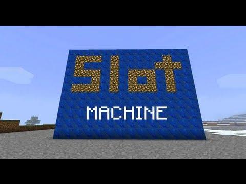 Майнкрафт как сделать слот машину (платную) - YouTube