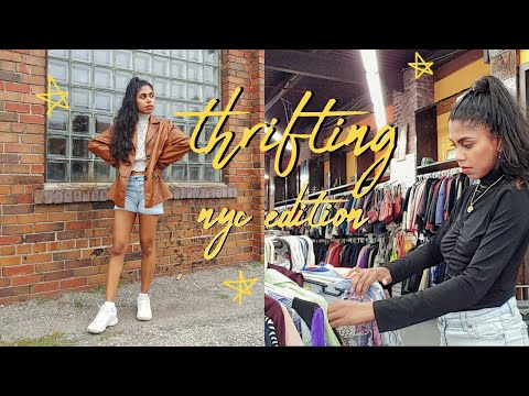 Come Thrift With Me In Brooklyn, NYC   Le Point Value Thrift & L Train Vintage (HUGE VINTAGE STORE)