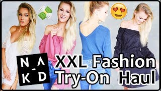 XXL TRY-ON FASHION HAUL I 370€ NA-KD HAUL I Cindy jane