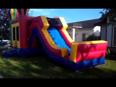 Kidz Playz Party Rentals- Deluxe Bouncer in Action