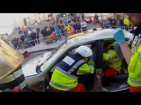 Southwest motorsport rescue + Irish red cross Tralee  demo
