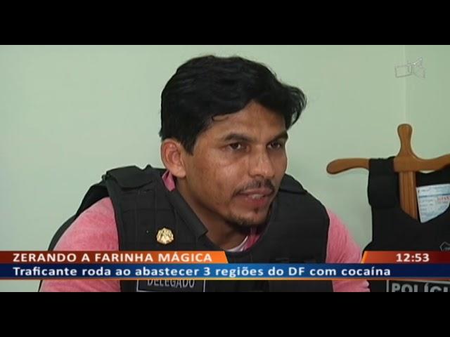 DF ALERTA - Traficante especializado em venda de cocaína toma bote