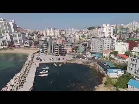 RobsSkyviewz of a little bay Ulsan, South Korea