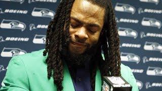 Richard Sherman Says GOODBYE to Seahawks Teammates; Was He TRADED?? thumbnail