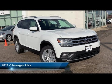 2019 Volkswagen Atlas 3.6l V6 Se W/technology Joliet Plainfield Shorewood New Lenox Channahon M