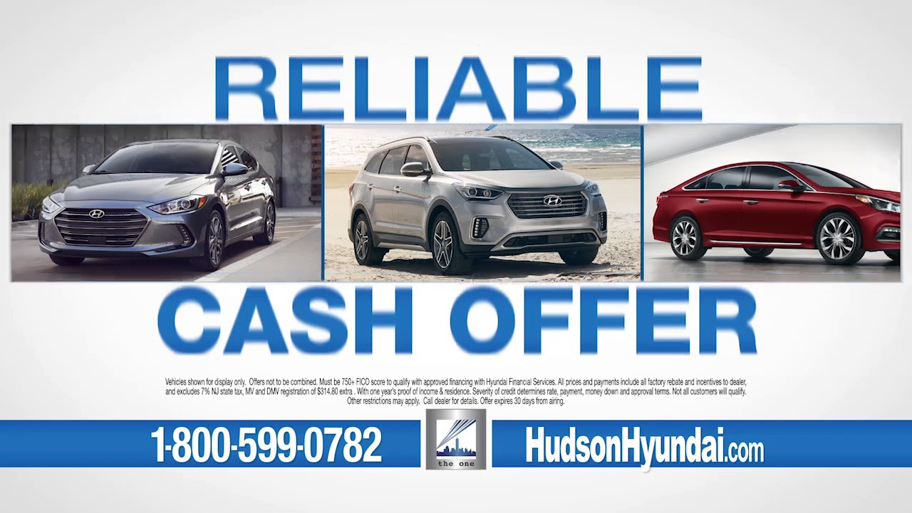 Hudson Hyundai Helps with Bad Credit AND Buys Cars for CASH! - YouTube