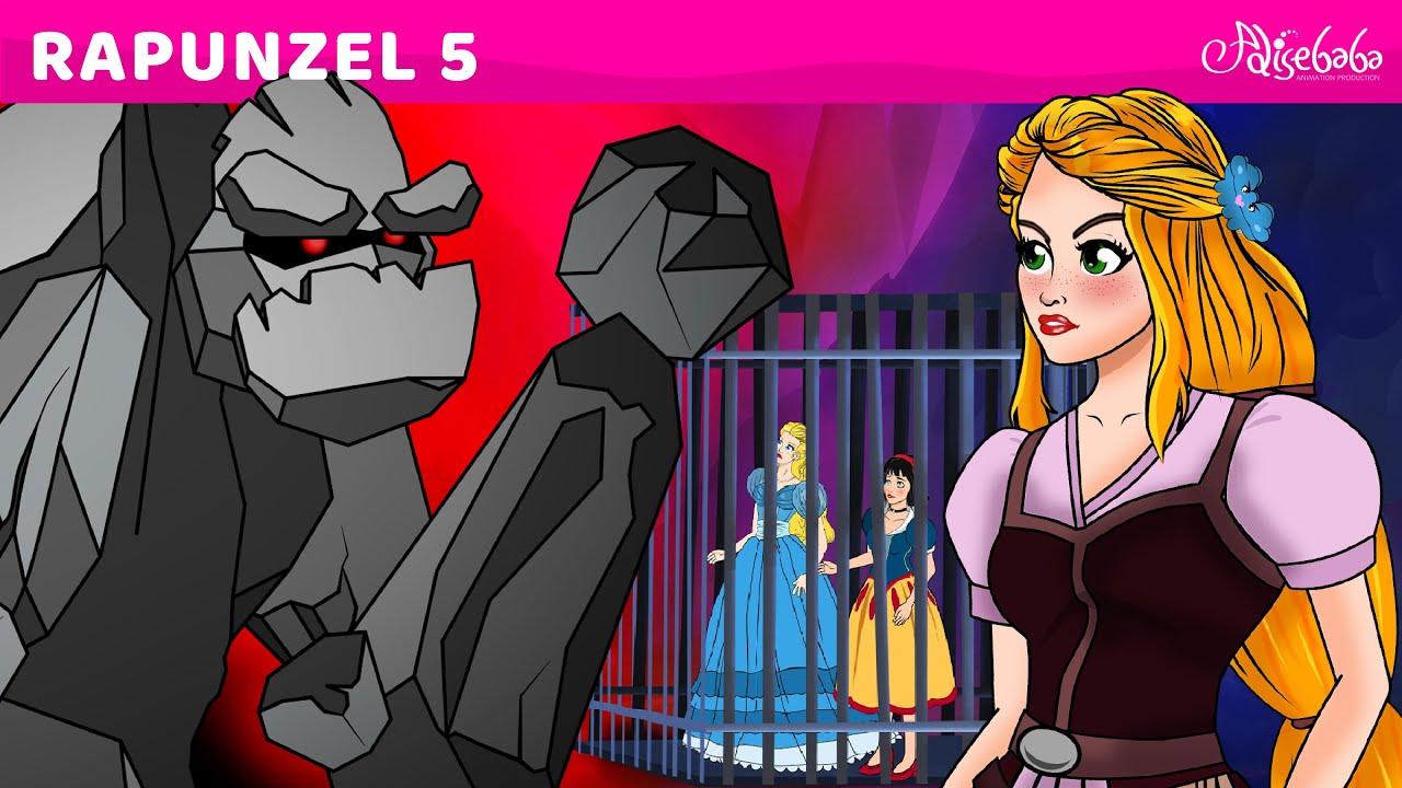 Rapunzel Tập 5 – Công chúa chống lại phù thủy – Truyện cổ tích Việt nam – Phim hoạt hình cho trẻ em