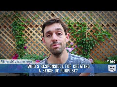 Who's Responsible for Creating A Sense Of Purpose?
