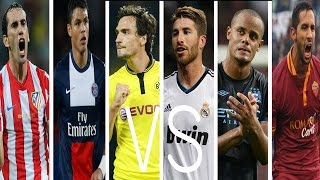 The Battle Of The Best Football Defenders ● World