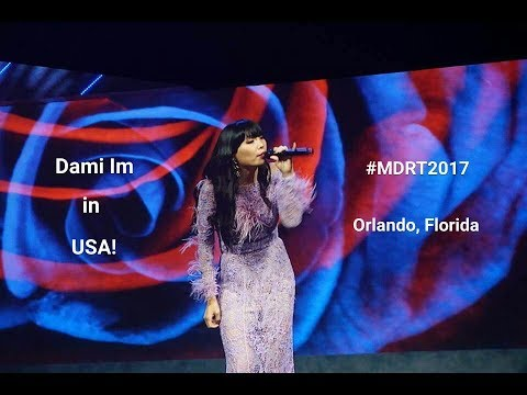 Dami Im wows the crowds at the 2017 MDRT Annual Meeting in Florida, USA!