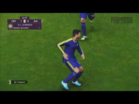 PES 2020 FULL VERSION GAMEPLAY JUVENTUS-CM BLUE YELLOW COPPA ITALIA