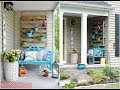 Porch design decorating ideas for front house UK Small House India