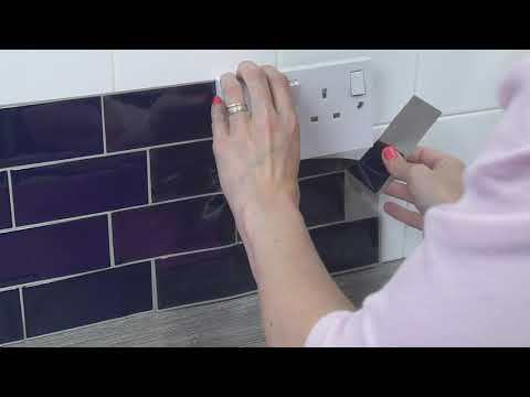 How to apply 3D tile stickers
