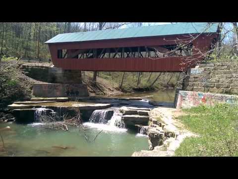 Helmick Covered Bridge Perry county Ohio