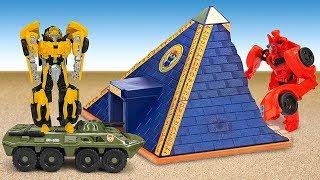 Роботы Трансформеры – Путешествия Бамблби! - Сборник видео.