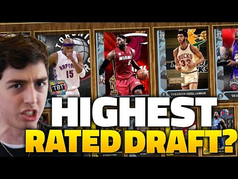HIGHEST RATED DRAFT OF THE DAY? NBA 2K16 DRAFT
